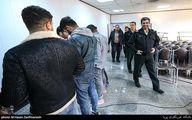 تصاویر: دستگیری عاملان تیراندازی محله نازی آباد