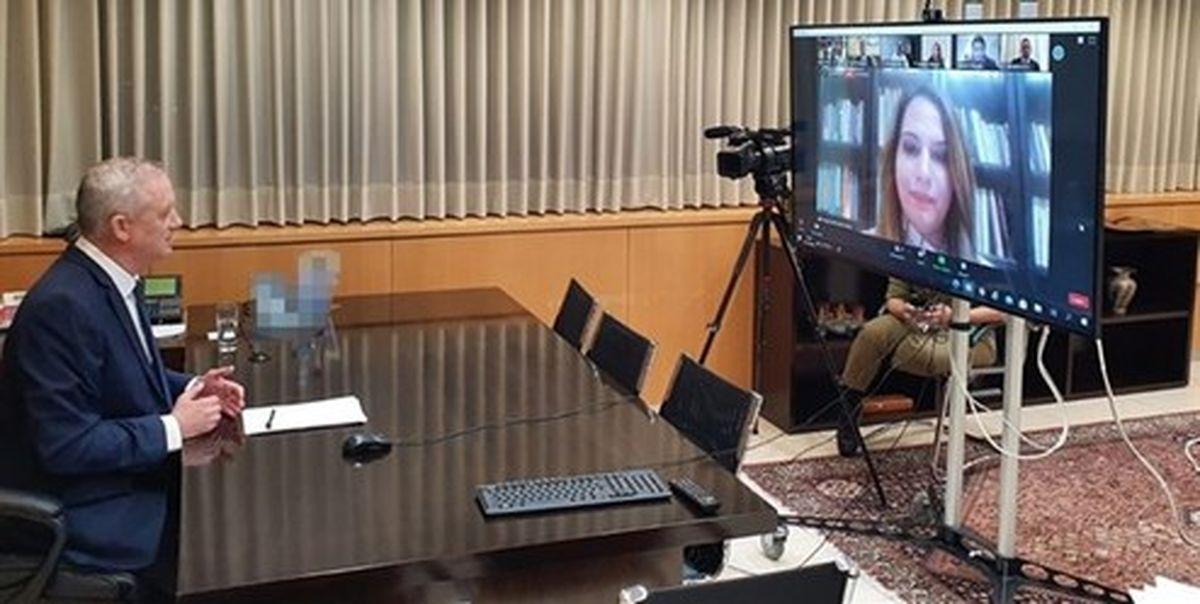اتهام زنی وزیر جنگ صهیونیستی به ایران و ترکیه