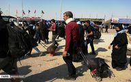 تصاویر: وضعیت تردد زائران در مرز شلمچه