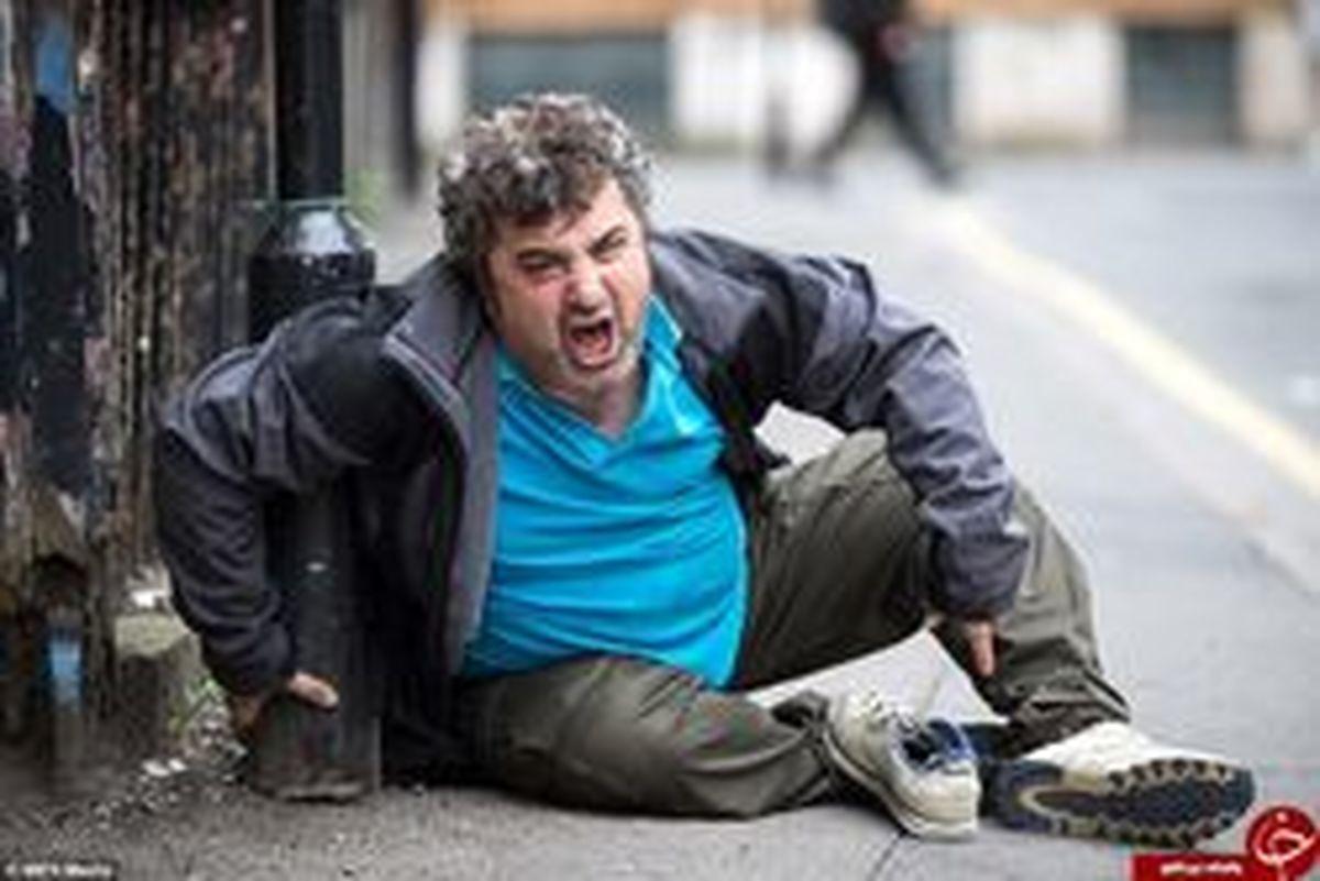 تصاویری وحشتناک از جولان زامبیها در خیابانهای منچستر