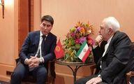 رایزنی ظریف و وزیر خارجه قرقیزستان در مونیخ