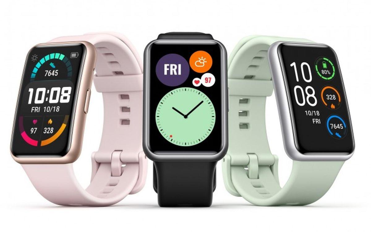 ساعت هوشمند جدید Huawei Watch Fit عرضه شد