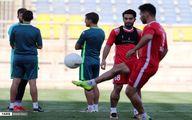 گزارش تصویری از تمرین پرسپولیس در ورزشگاه شهید کاظمی