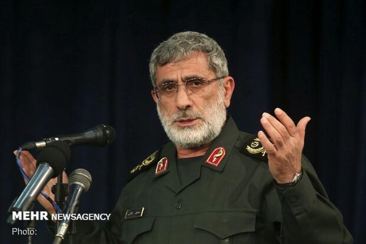 سردار قاآنی: شهید سلیمانی نیازی به اغراق ندارد