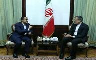 دیدار مذاکره کننده ارشد انصارالله یمن با جابری انصاری