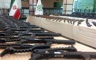 انهدام باند قاچاق سلاح به مرکز ایران