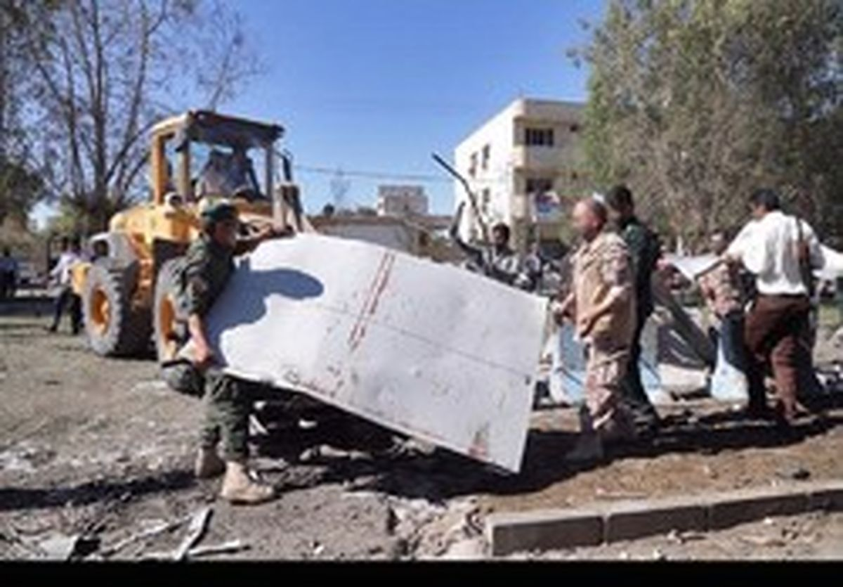 نیروهای ویژه سپاه در محل حمله تروریستی چابهار +تصاویر