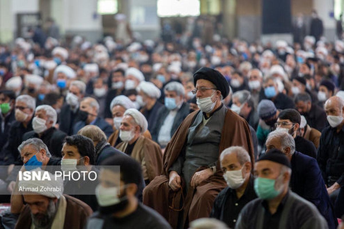 تصاویر: اقامه نماز جمعه پس از ۶ ماه تعطیلی - قم