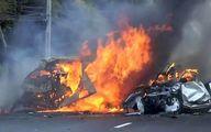 یک تصادف رانندگی در اینترنت پربیننده شد +عکس