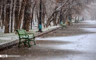 تصاویر: بارش برف پاییزی در سقز