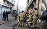 مصدومیت ۱۱ آتش نشان در حادثه ساختمان وزارت نیرو