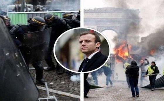 تظاهرات گسترده فرانسویها به بیکاری