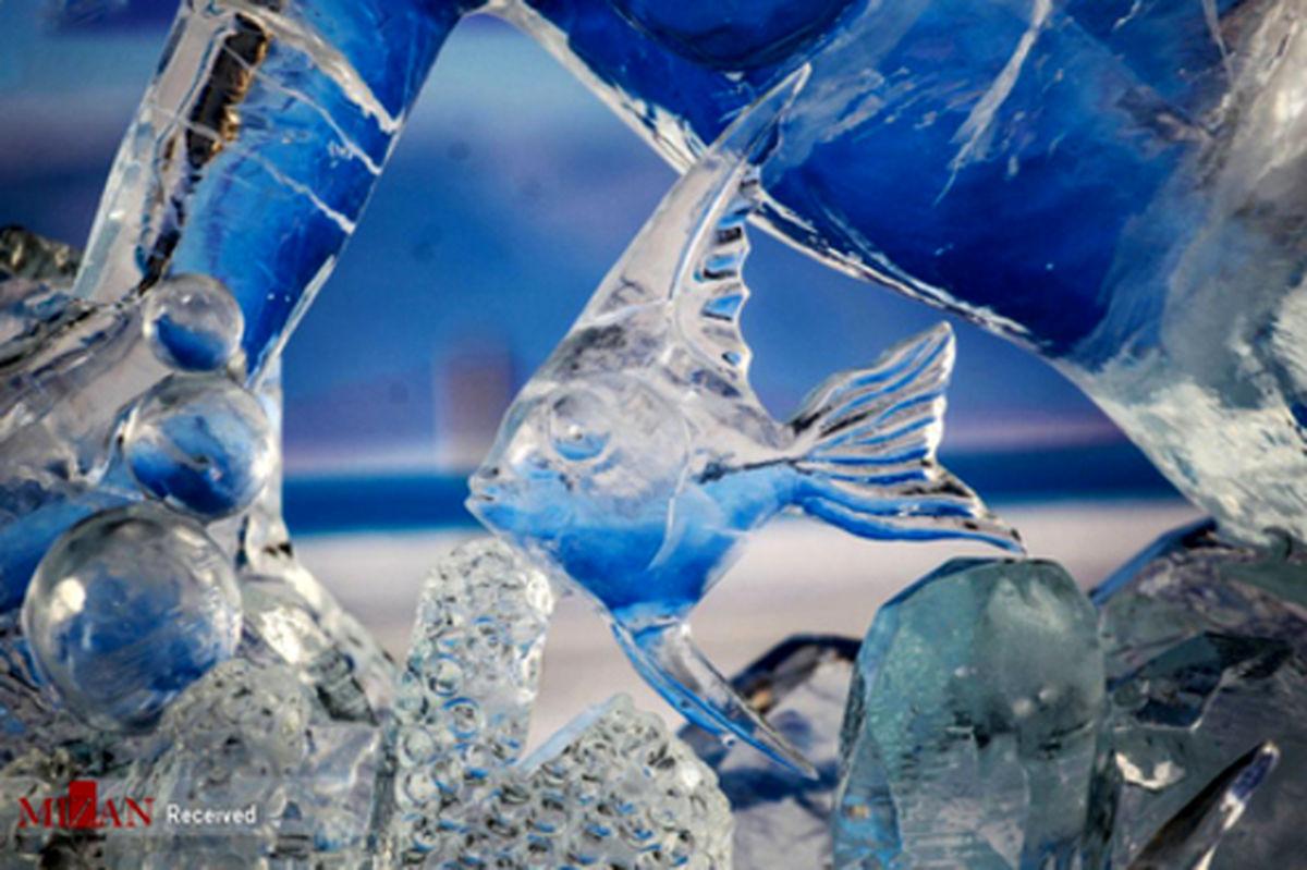 تصاویر: مجسمههای یخی در دریاچه بایکال