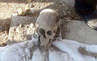 بقایای جسد زن جوان و جمجمههای درون کیسه