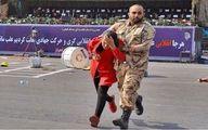 خبری خوش برای سرباز فداکار حمله تروریستی اهواز