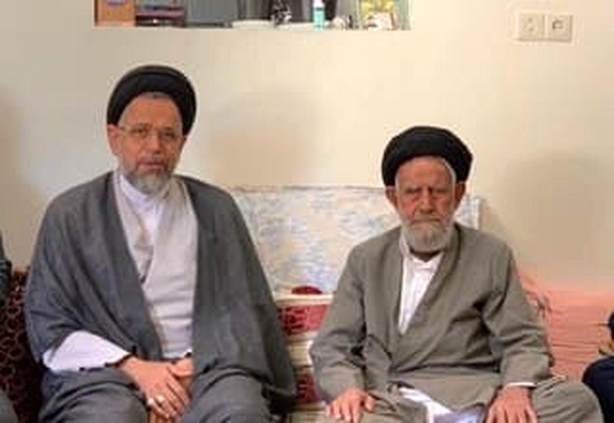 پدر وزیر اطلاعات بر اثر کرونا درگذشت
