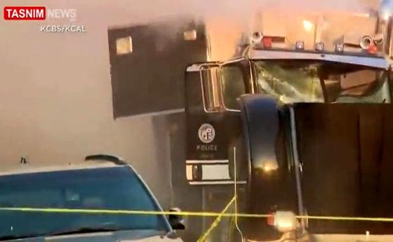 انفجار مواد آتشبازی لسآنجلس را به لرزه درآورد +فیلم