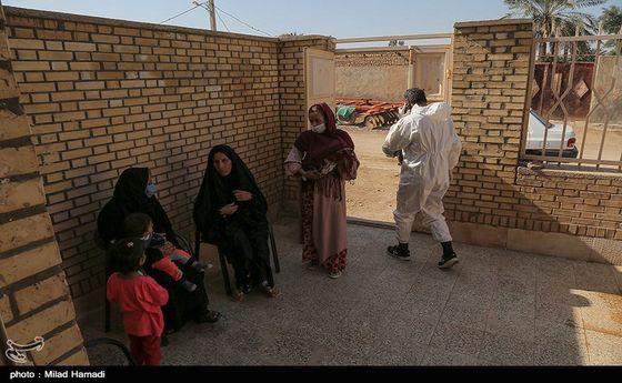تصاویر: شیوع هپاتیت در روستاهای اسماعیلیه-اهواز