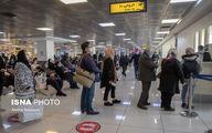 تصاویر: وضعیت فرودگاه مهرآباد در روزهای پایانی سال ۹۹