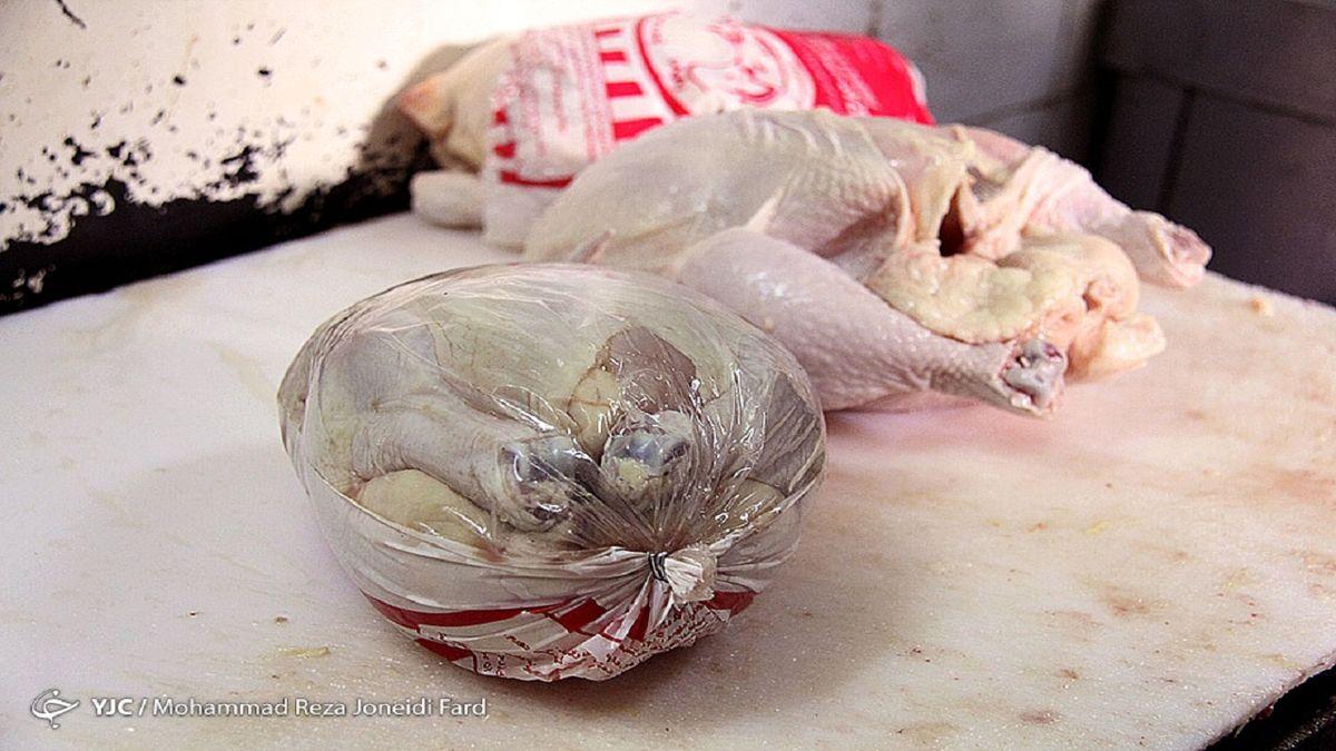 نرخ هر کیلو مرغ منجمد چند؟