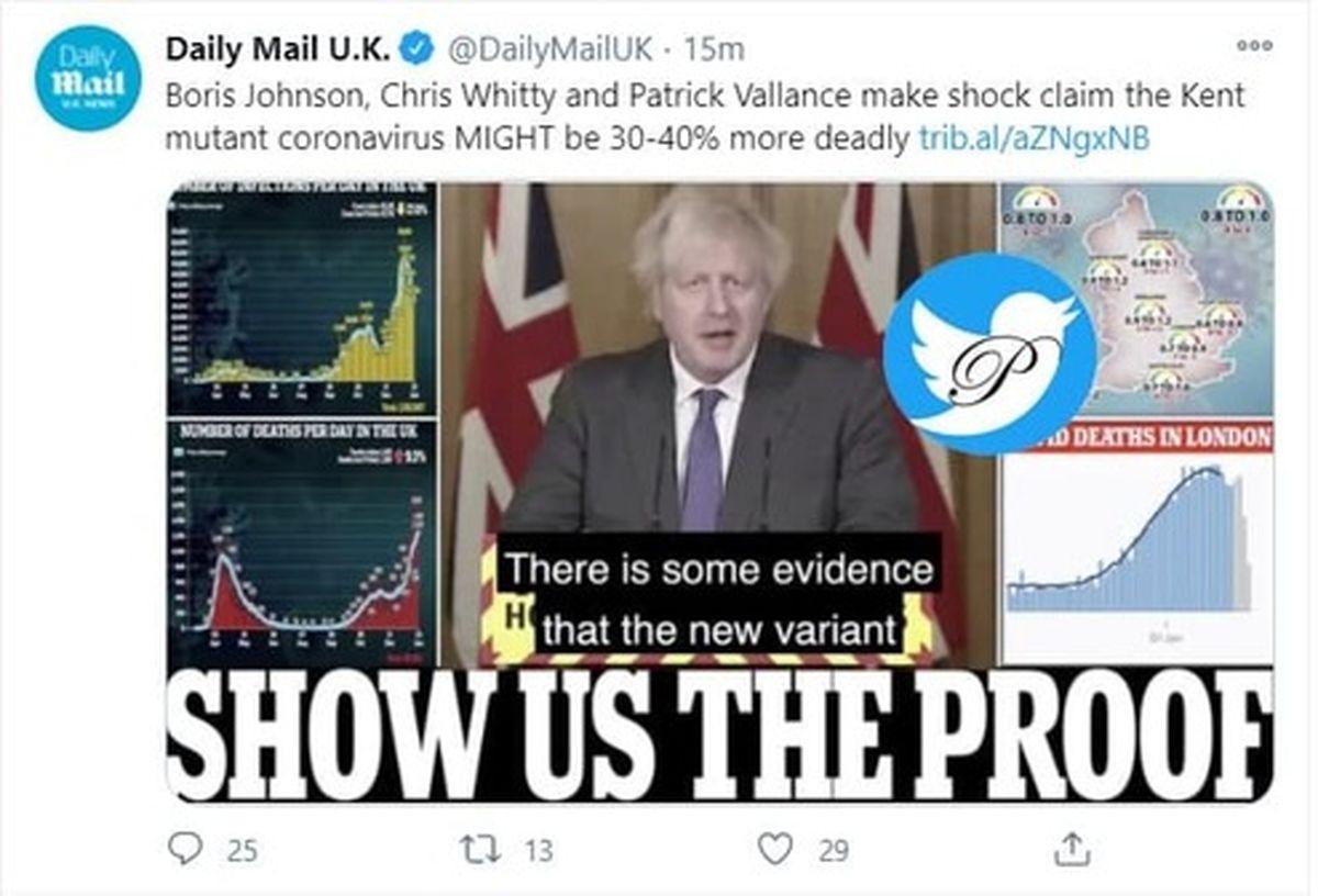 شوک نخست وزیر انگلیس به مردم