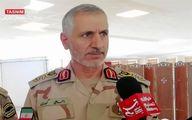 فرمانده مرزبانی ناجا: ۹۳ تن مواد مخدر در سال جاری کشف شد