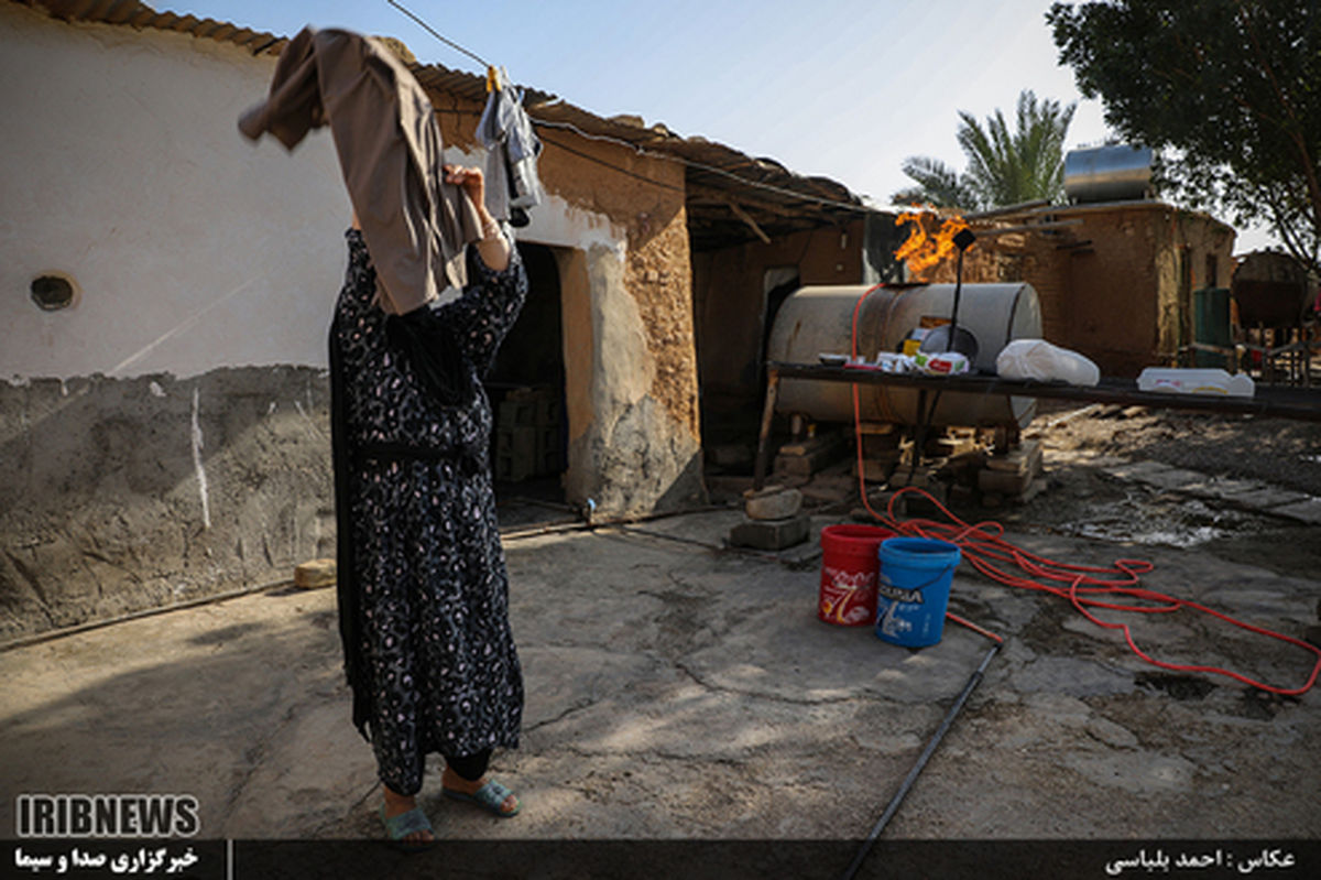 وضعیت عجیب فقر در روستای نفت خیر