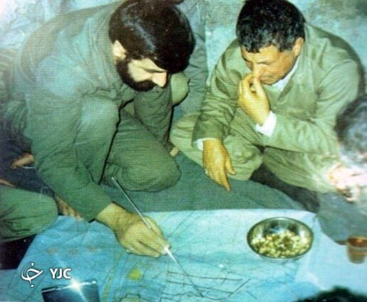این سردار سپاه مغز متفکر عملیات کربلای پنج بود +عکس