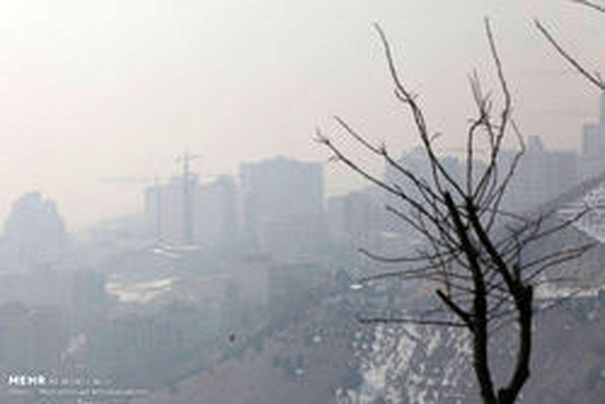 آلودگی هوا به تهران برگشت