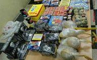 کشف ۱۸ هزار عدد مواد محترقه از چمدان یک مسافر