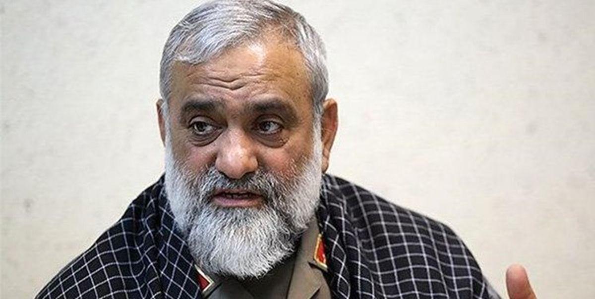 واکنش سردار نقدی به مسدودشدن صفحه اینستاگرام اژه ای