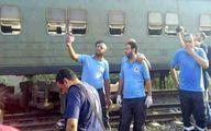 سلفی گرفتن در صحنه حادثه قطار جنجالی شد! +تصاویر