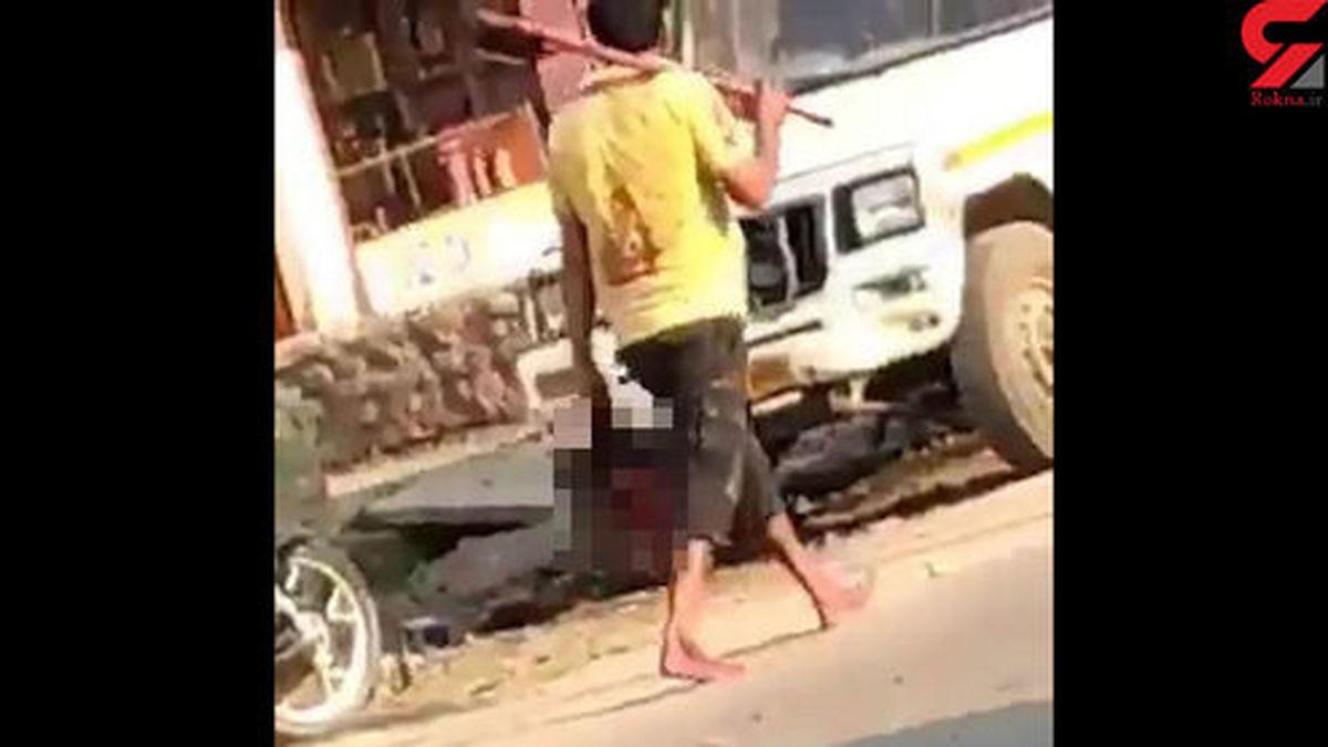 ماجرای مردی که با سر بریده زنش در خیابان قدم میزد +عکس