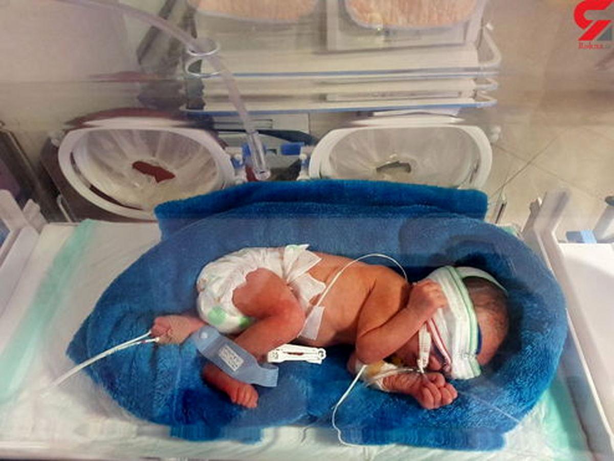 اتفاقی عجیب برای نوزاد ۵ روزه تهرانی