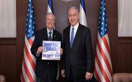 تشکر نتانیاهو از سناتور ضد ایرانی