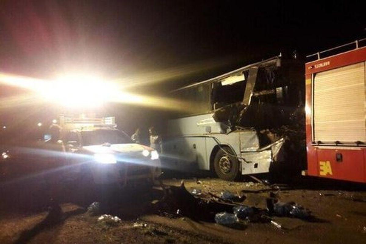 شناسایی اجساد حادثه اتوبوس کارکنان پالایشگاه اصفهان +اسامی