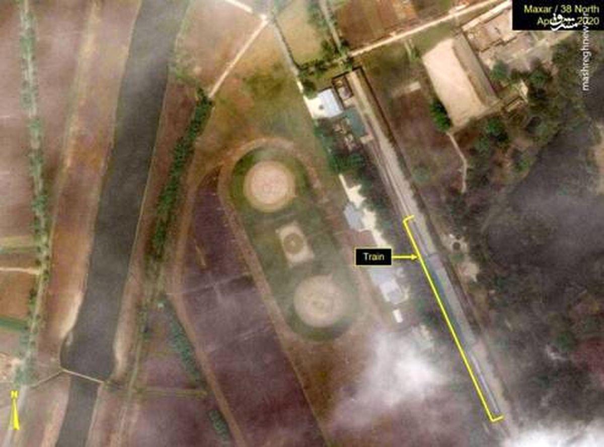 تصاویر هوایی از ردیابی موقعیت رهبر کره شمالی