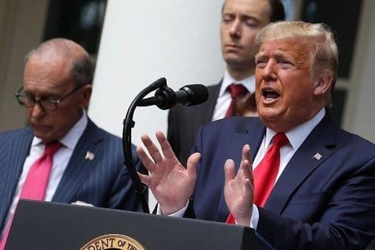 اشک تمساح ترامپ برای بیکاران آمریکا