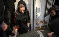 وداع همسر و دختر مرحوم جوهرچی بالاسر جنازه +عکس
