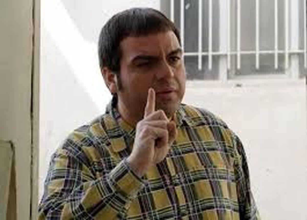 علاقه بازیگر سرشناس ایرانی به چاقی! +فیلم