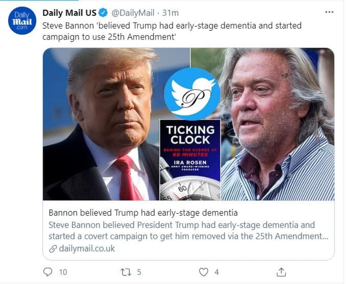 ماجرای زوال عقل ترامپ را که فاش کرد؟ +عکس
