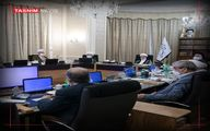 تصویر از جلسه بررسی صلاحیت داوطلبان انتخابات