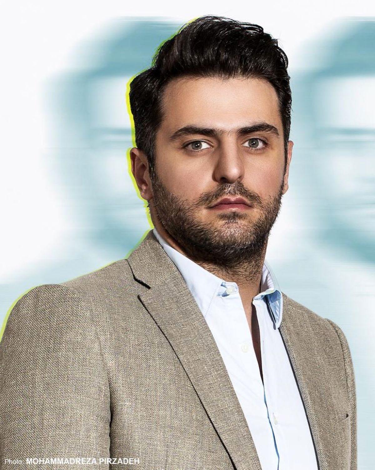 تیپ و قیافه علی ضیا مهران مدیری را مجذوب کرد/ ویدئو