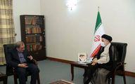 دیدار مشاور رهبر انقلاب با رئیس جمهور منتخب