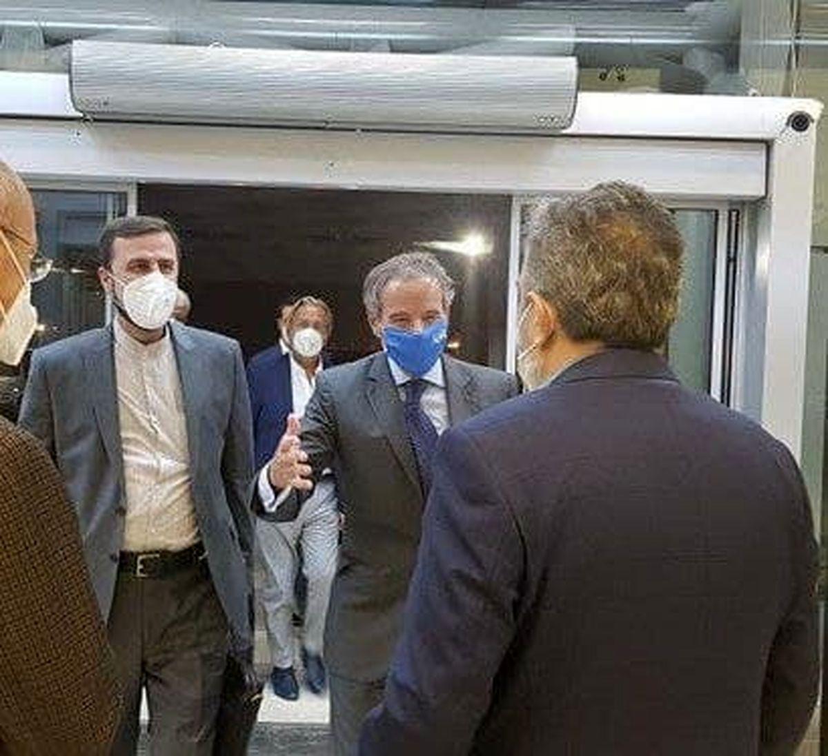 «رافائل گروسی» وارد تهران شد +عکس