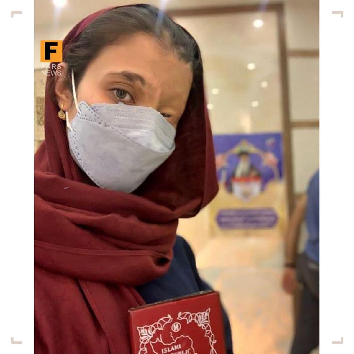 دختری که باعث عصبانیت رسانههای ضدانقلاب شد! +عکس