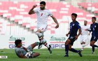 تصاویر: دیدار پرگل تیم ملی ایران مقابل کامبوج