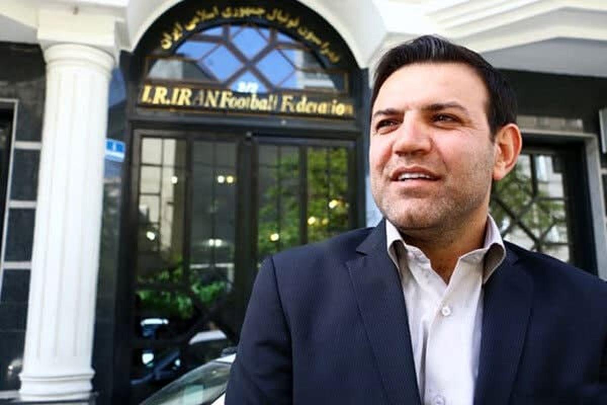 «شهابالدین عزیزی خادم» رییس فدراسیون فوتبال شد