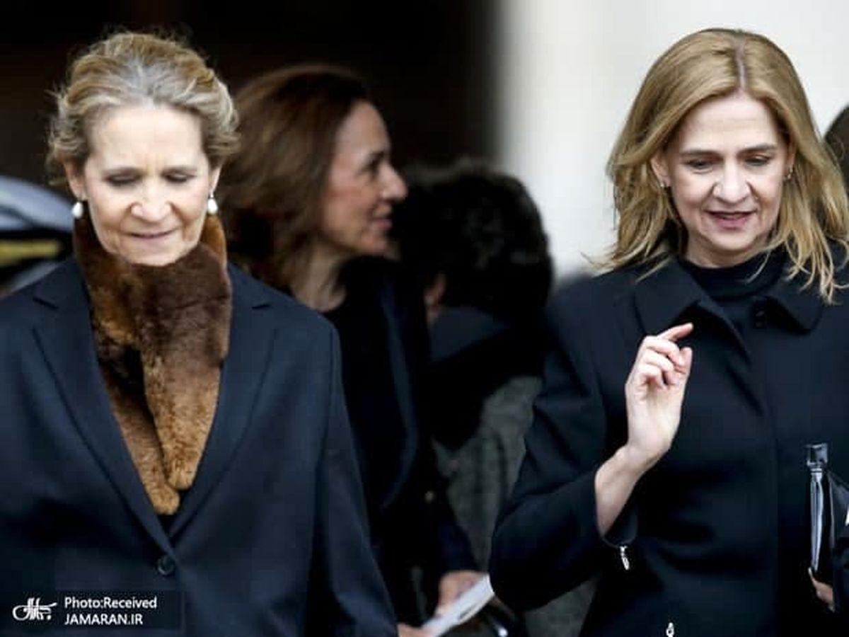 خواهران پادشاه اسپانیا جنجال آفریدند! +عکس