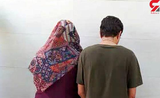 بازداشت خلافکارترین دختر و پسر تهرانی در محدوده اتوبان آزادگان+عکس